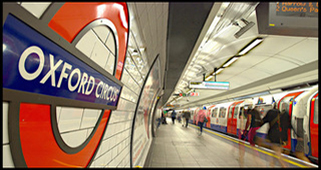 London Oxford Street Underground
