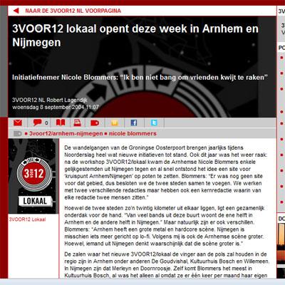 3VOOR12/Arnhem-Nijmegen