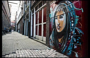 Alice Pasquini in Amsterdam